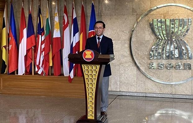 АСЕАН и Швеицария соглашаются расширять всестороннее сотрудничество hinh anh 1