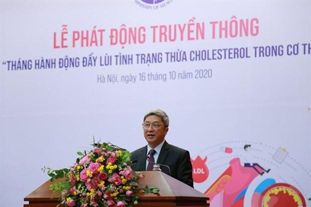 Министерство объявило месяц деиствии по профилактике избыточного холестерина hinh anh 1