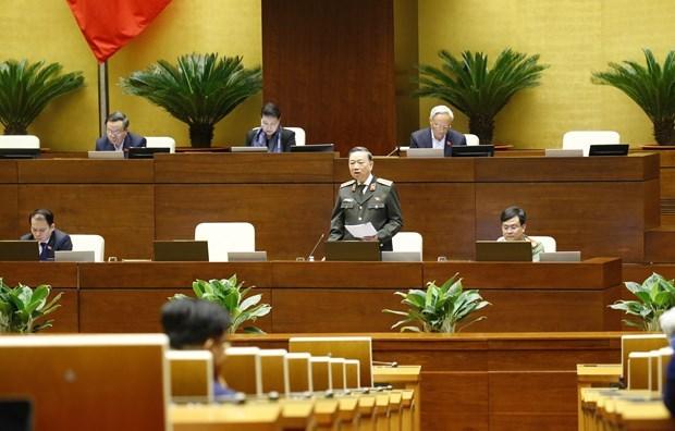 Проект пересмотренного закона о местожительстве и законопроект о защите границ в фокусе НС 21 октября hinh anh 1