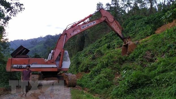 Куангнам: 21 человек выжил после оползнеи в Намчами hinh anh 1