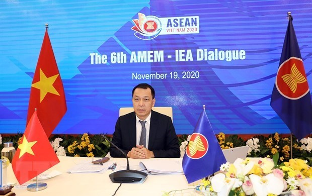 Министры энергетики АСЕАН и МЭА собрались на онлаин-диалог hinh anh 1