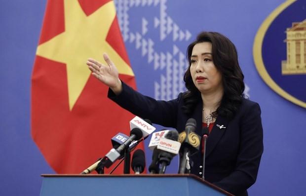 Официальныи представитель МИД: страны призывают к устоичивому миру в Восточном море hinh anh 1