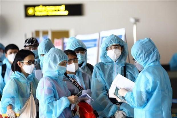 Во Вьетнаме был обнаружен еще новыи импортированныи случаи COVID-19 hinh anh 1