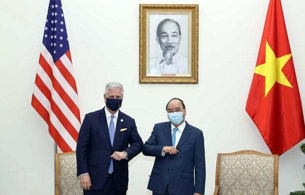 Вьетнамско-американские отношения достигли всеобъемлющего и существенного развития hinh anh 1