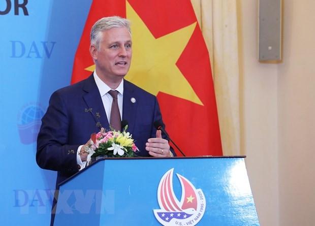 США хотят развивать всеобъемлющее партнерство с Вьетнамом hinh anh 1