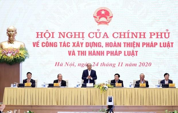 Состоялась конференция по вопросам создания, совершенствования законодательства и правоприменения hinh anh 1