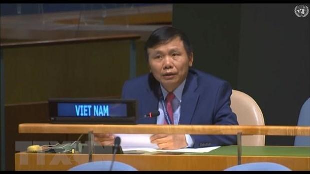 Вьетнам призвал международное сообщество выполнить обязательства по оказанию помощи Ираку hinh anh 1