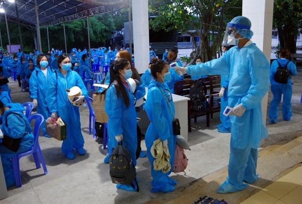 Во Вьетнаме был обнаружен еще 10 новых импортированных случаев COVID-19 hinh anh 1