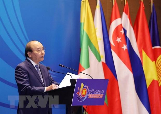 Премьер-министр принял участие в заседании министров стран АСЕАН по борьбе с транснациональнои преступностью hinh anh 1