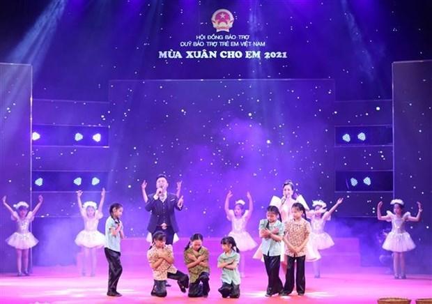Благотворительная программа собрала 6,42 млн. долл. США на мероприятия по уходу за детьми hinh anh 1