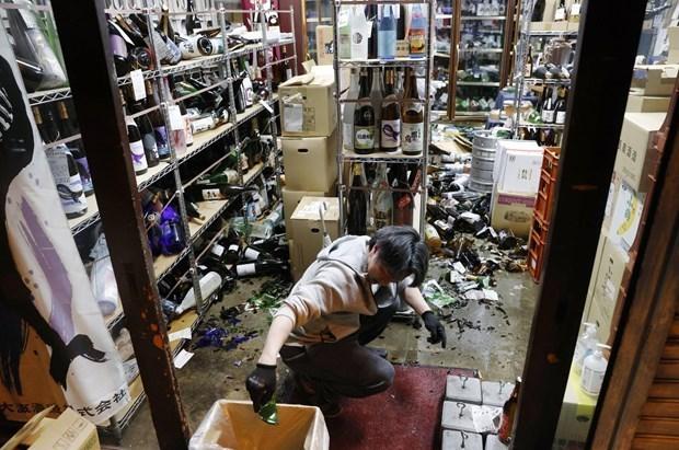 В результате землетрясения в Японии пострадавших вьетнамцев нет hinh anh 1