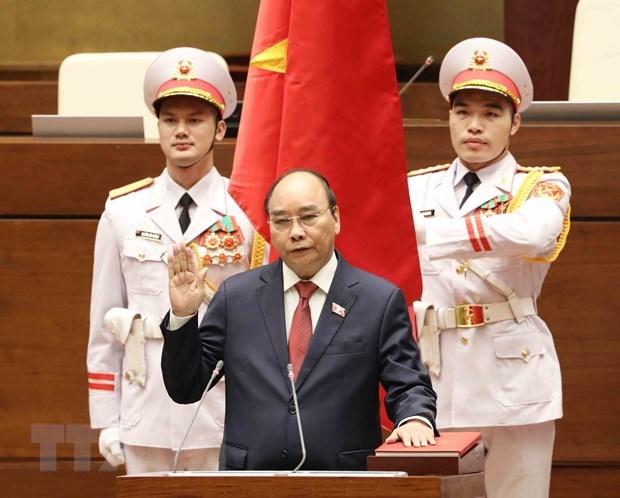 Лидеры некоторых стран и ВЭФ направили поздравления вьетнамскому руководству hinh anh 1