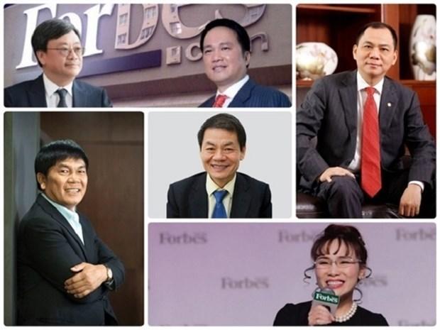 Шесть вьетнамских миллиардеров попали в список Forbes hinh anh 1