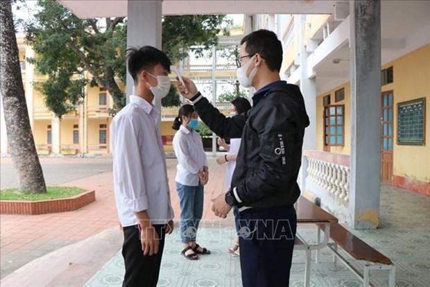 На утро 8 апреля новых случаев заражения COVID-19 во Вьетнаме не зарегистрировано hinh anh 1