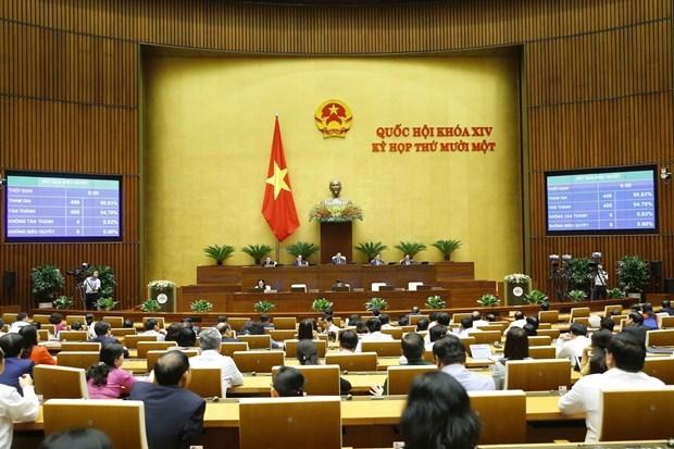 НС утверждило назначение двух заместителеи премьер-министра hinh anh 1
