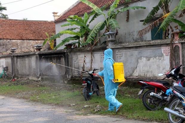 29 апреля зарегистрировано пять случаев заражения COVID-19 внутри страны hinh anh 1