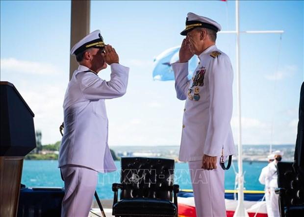 Посол Вьетнама в США принял участие в церемонии инаугурации командующего INDOPACOM hinh anh 1