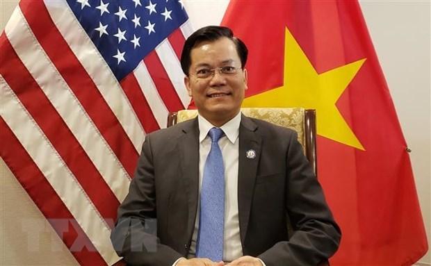 Посол Вьетнама в США принял участие в церемонии инаугурации командующего INDOPACOM hinh anh 2