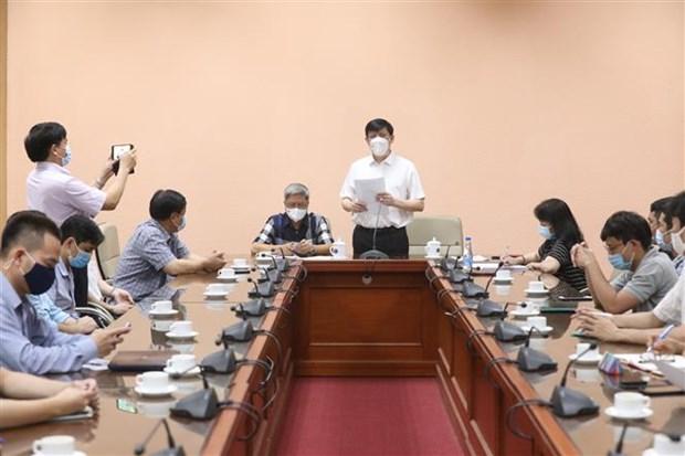 Более 30 вьетнамских экспертов готовы к миссии поддержки COVID-19 в Лаосе hinh anh 1