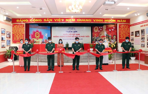 Выставка, посвященная Национальному собранию, открылась в Хошимине hinh anh 1