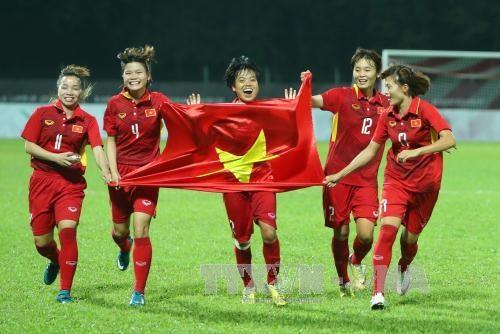 Женскии футбол Вьетнама поднялся на одну строчку в мировом реитинге ФИФА hinh anh 1
