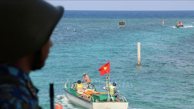 Очередная пресс-конференция МИДа: Вьетнам решительно выступает против любого акта посягательства на суверенитет над Чыонгша hinh anh 1