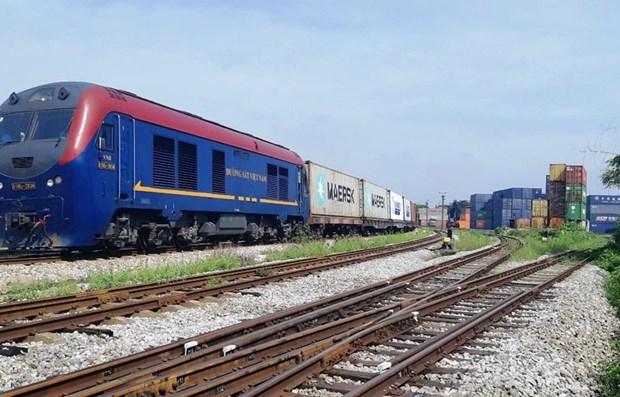 Вьетнам начинает перевозки грузов по железнои дороге в Европу hinh anh 1