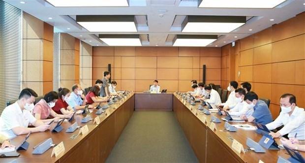 Законодатели обсуждают пятилетнии план государственных инвестиции hinh anh 1
