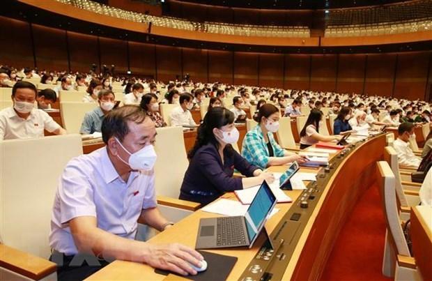 Руководство государства будет избрано на второи неделе первои сессии НС 15-го созыва hinh anh 1
