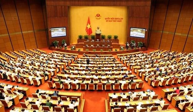Первая сессия НС 15-го созыва: НС проводит процесс выборов президента страны и премьер-министра hinh anh 1