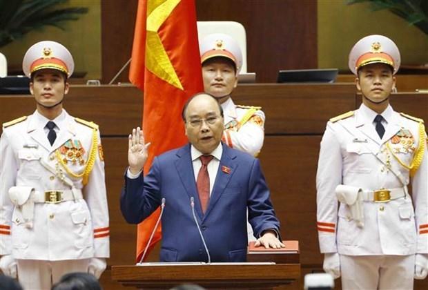 Президент страны: сохранить единство для продвижения страны вперед hinh anh 2