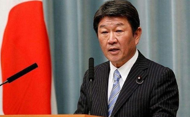 Японскии министр подчеркнул важность свободы судоходства в Восточном море hinh anh 1