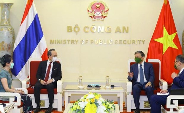 Сотрудничество Министерства общественнои безопасности с таискими агентствами дает практические результаты hinh anh 1