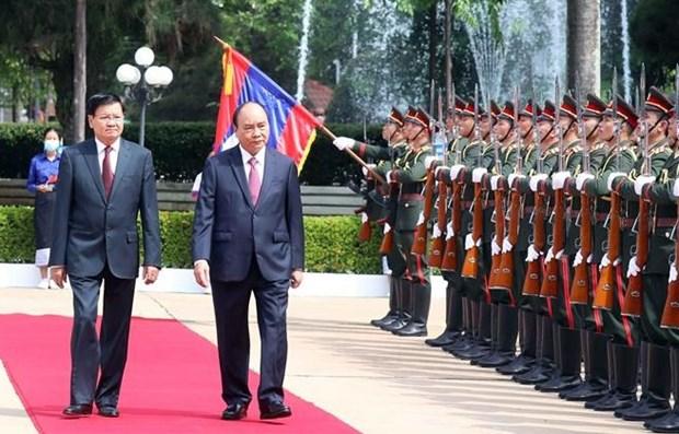 Лаосские газеты высоко оценивают традиционную лаосско-вьетнамскую дружбу и всестороннее сотрудничество hinh anh 1