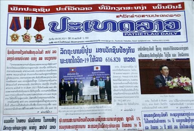 Лаосские газеты высоко оценивают традиционную лаосско-вьетнамскую дружбу и всестороннее сотрудничество hinh anh 2