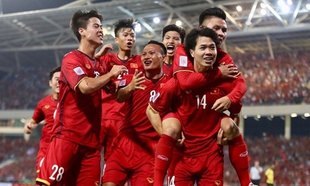Вьетнам сохранил 92-е место в последнем реитинге ФИФА hinh anh 1