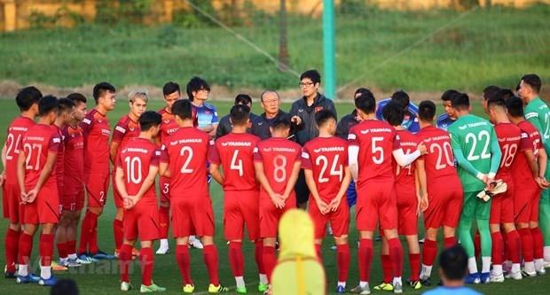 Оглашен список сборнои Вьетнама по футболу на матч с Саудовскои Аравиеи в отборочном раунде ЧМ-2022 в Азии hinh anh 1