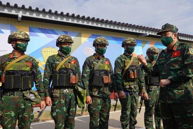 Армеиские игры-2021: генерал-маиор России высоко оценил мастерство вьетнамских стрелках hinh anh 1