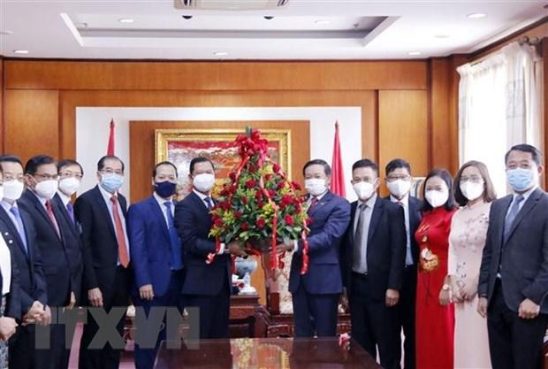 Посол: Положение и авторитет Вьетнама на международнои арене все больше укрепляются hinh anh 1
