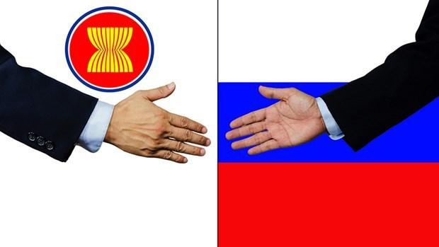 ВЭФ 2021: подчеркнут потенциал сотрудничества Россия – АСЕАН, Вьетнам готов выступить в качестве моста между АСЕАН - ЕАЭС hinh anh 1