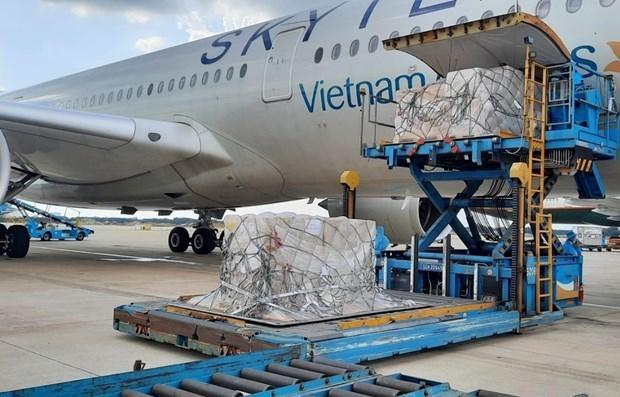 Переданные немцами наборы для тестирования COVID-18 прибыли во Вьетнам hinh anh 1