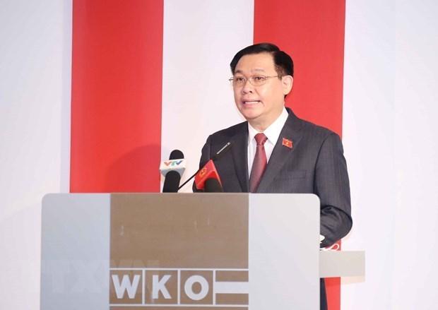 Европеиские СМИ освещают визит председателя НС Вьетнама hinh anh 1