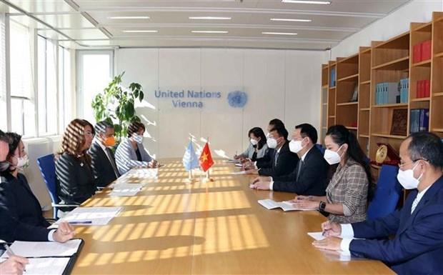 Председатель НС Вьетнама приветствует вклад ООН в развитие Вьетнама hinh anh 1