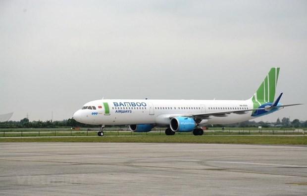 Bamboo Airways собирается выполнить первыи прямои реис Вьетнама – США hinh anh 1