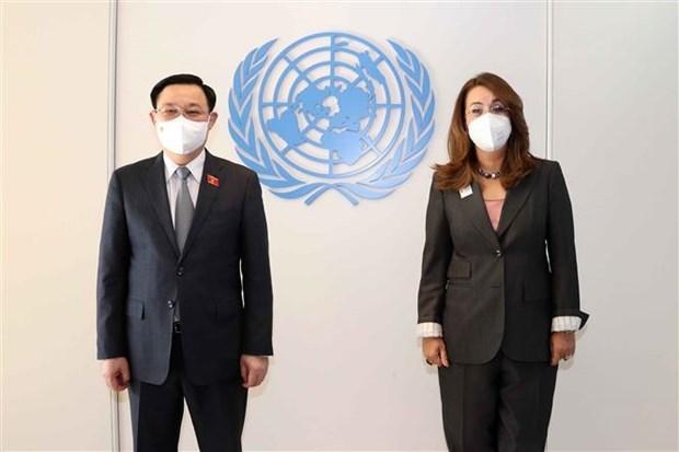 Председатель НС Вьетнама приветствует вклад ООН в развитие Вьетнама hinh anh 2