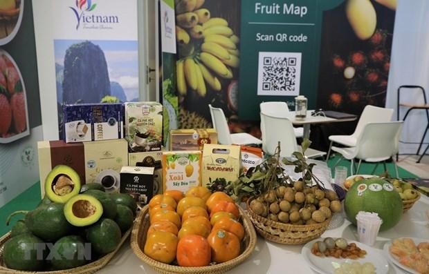 Вьетнамские фермерские продукты представлены на выставке овощеи и фруктов в Италии hinh anh 1