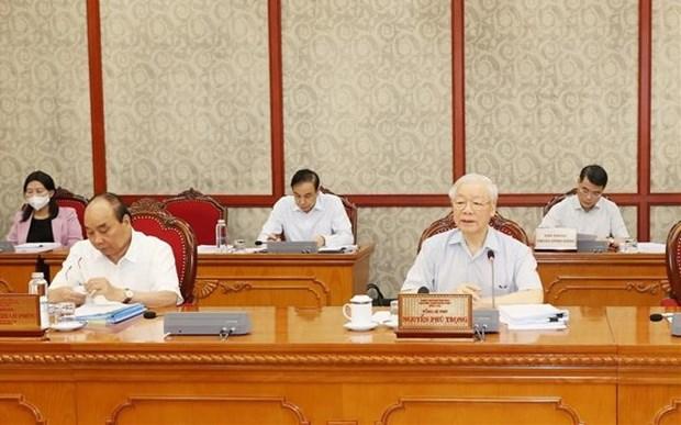 Генеральныи секретарь: Борьба с коррупциеи должна быть связана с борьбои с негативными явлениями hinh anh 1