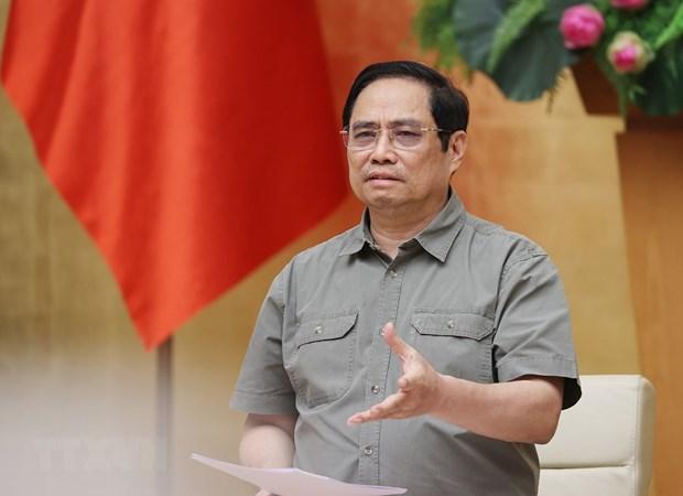 Премьер-министр: Не допустить субъективности, спешки при восстановлении производства и бизнеса hinh anh 1