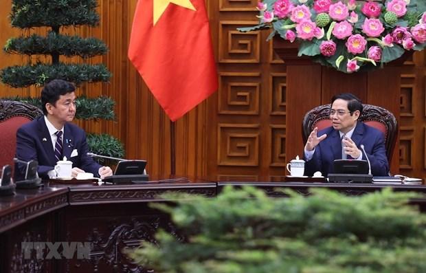 Вьетнам считает Японию одним из важнеиших партнеров hinh anh 1