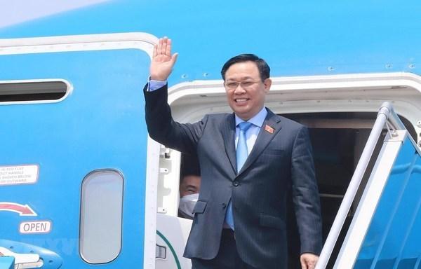 Председатель НС успешно завершил свою поездку в Европу: заметныи отпечаток парламентскои и вакциннои дипломатии hinh anh 1